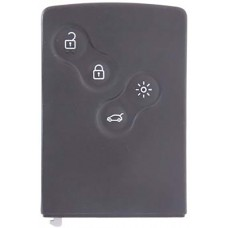 LLAVE RENAULT Safrane-Euro Clio-Koleos Mod. 14-15 * 4 botones  (Tarjeta)  434 Mhz