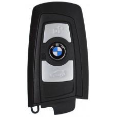 LLAVE BMW Serie 7 mod. 09-14 de 3 Botones FC.YGOHUF5767 de 434 Mhz sin inserto colore Negro