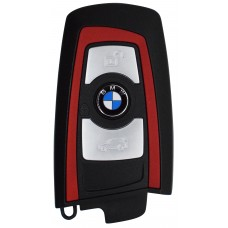 LLAVE BMW Serie 7 mod. 09-14 de 3 Botones FC.YGOHUF5767 de 434 Mhz sin inserto colore Rojo