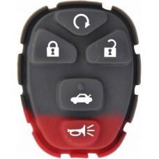 GOMA PARA CONTROL DE ALARMA CHEVROLET Malibu 5 botones