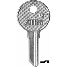 LLAVE RESIDENCIAL Alba M9  Niquelada (10 pzas)
