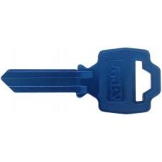 LLAVE RESIDENCIAL DE ALUMINIO JMA  FNL-1D Azul marino (5 pzas)