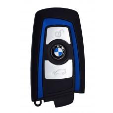 LLAVE BMW Serie 7 mod. 09-14 de 3 Botones FC.YGOHUF5767 de 434 Mhz sin inserto colore Azul