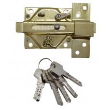 CERROJO DE SEGURIDAD IFAM CS88L-M50 con llave de seguridad laton brillante