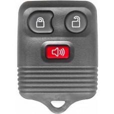 CARCASA FORD Mondeo-Edge-Focus-Fiesta-Transit 3 botones para control de alarma NEGRA