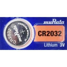 PILA PARA CONTROL de Alarma Murata 2032 3V  (5 pzas)