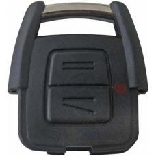 CARCASA CHEVROLET (Europa) Astra 2 botones Mod. 02-05 para control de alarma
