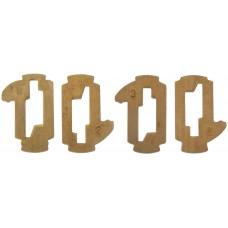 KIT DE TECLAS PARA CILINDRO DE TOYOTA 4 diferentes Corte normal (16 piezas)
