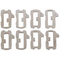 KIT DE TECLAS PARA CILINDRO DE VOLKSWAGEN 8 diferentes Corte regata (32 piezas)