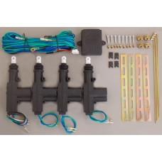 ACTIVADORES PARA SEGUROS ELECTRICOS UNIVERSALES Incluye Relay-Cables-Soportes para 4 Ptas.